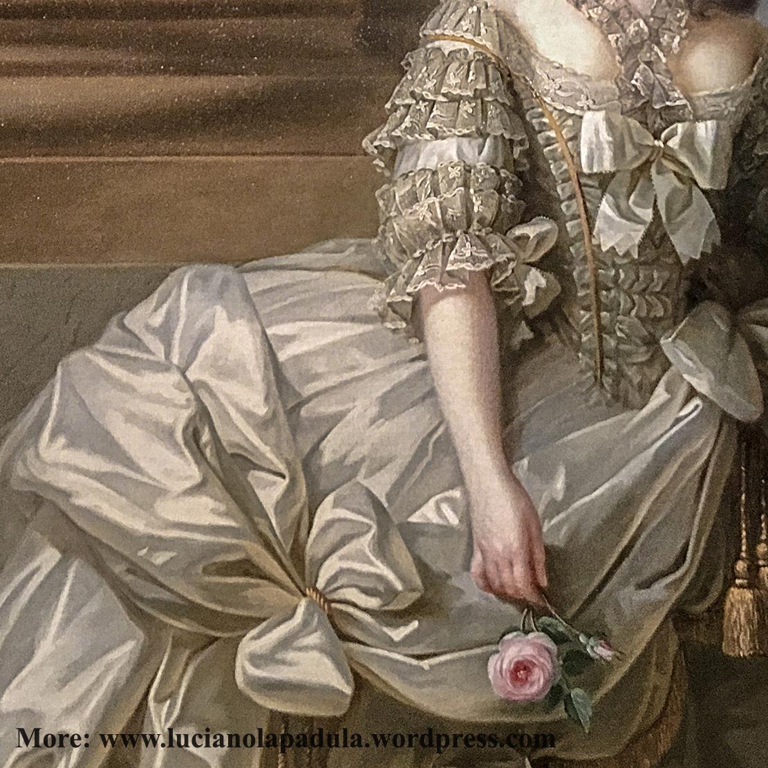 Marie-Antoinette en grand habit de cour - 1778 - Elisabeth Louise Vigée baroque