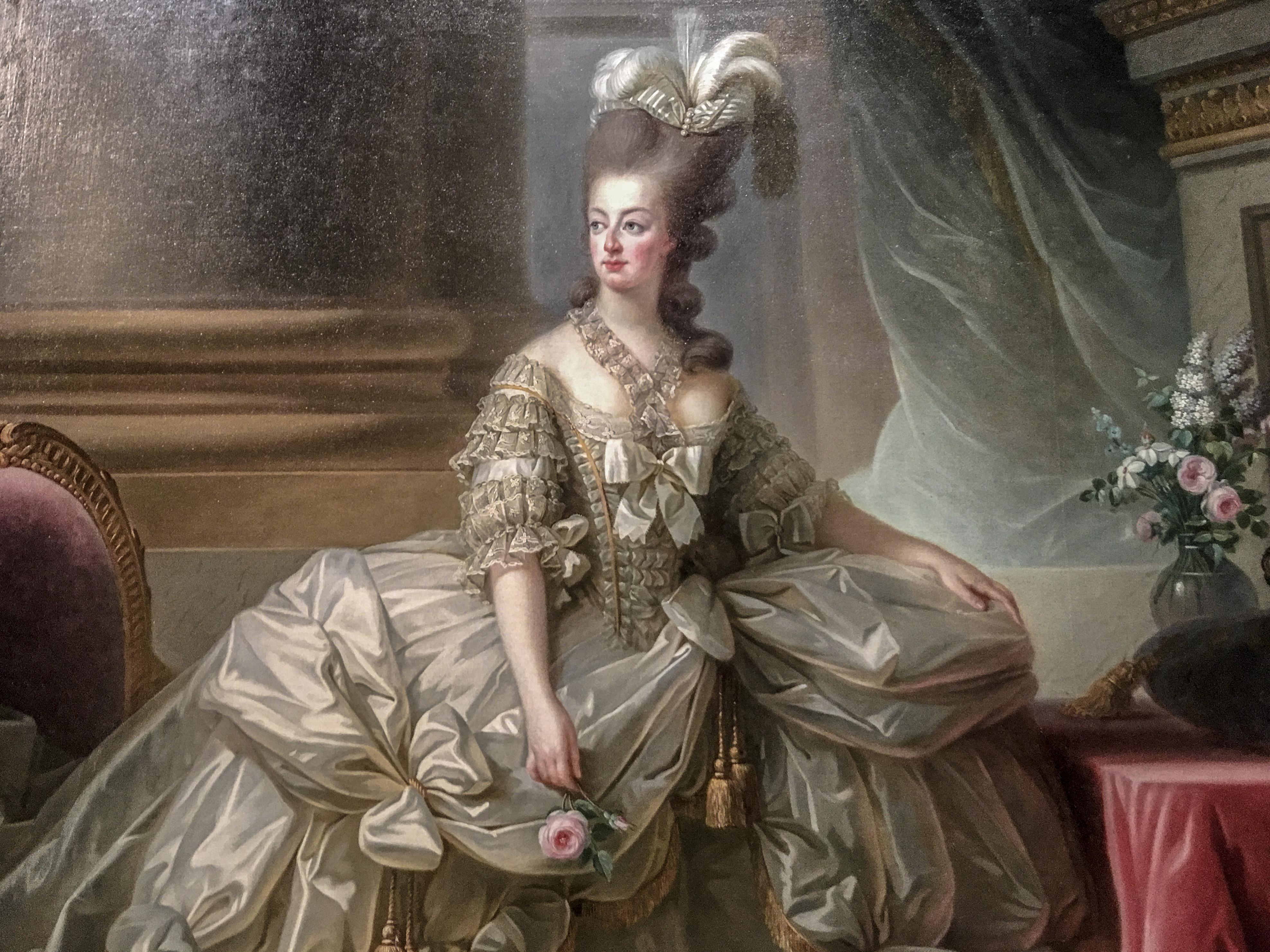 Marie-Antoinette en grand habit de cour - 1778 - Elisabeth Louis