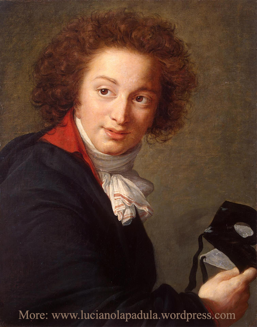 Portrait of Count Grigory Chernyshev with a Mask in His Hand 1793