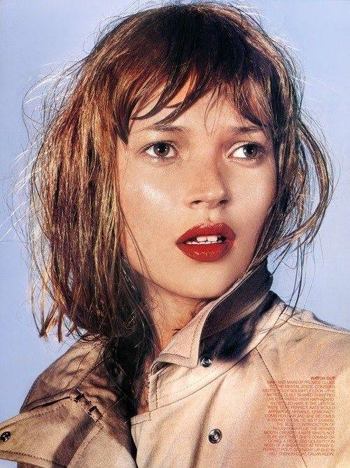 90s Make-Up history fashion makeup blog the lux on luciano lapadula kate moss 1997