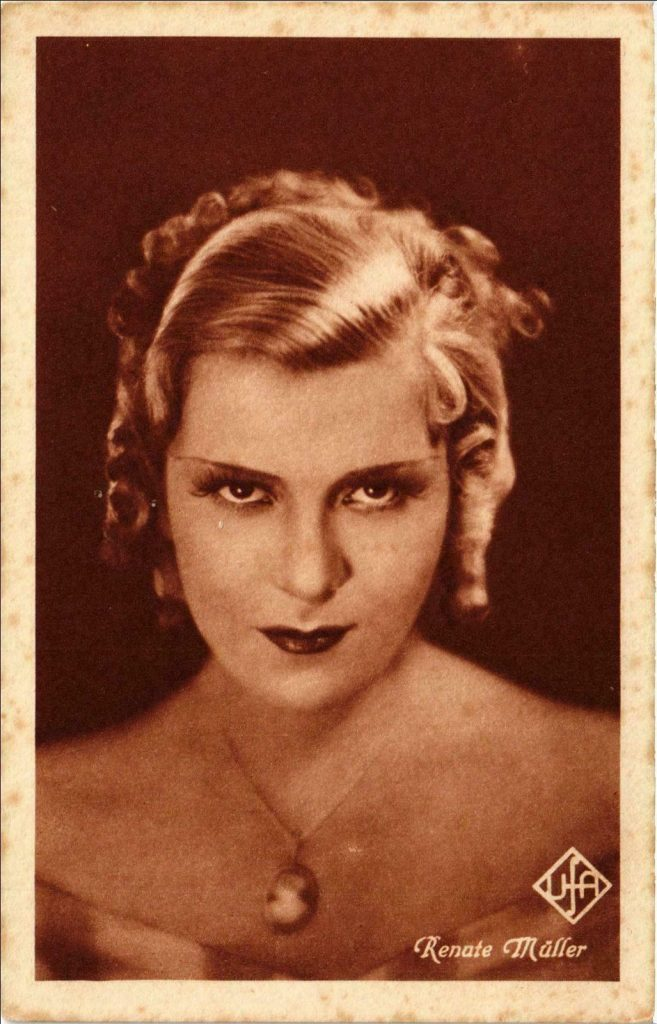 renate muller actress nazi nazism 30s 40s death cinema makeup