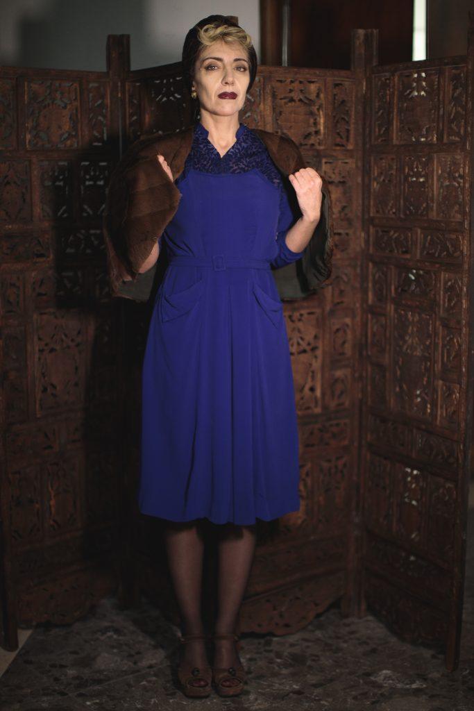 moda sotto le bombe teatro 40s war fashion