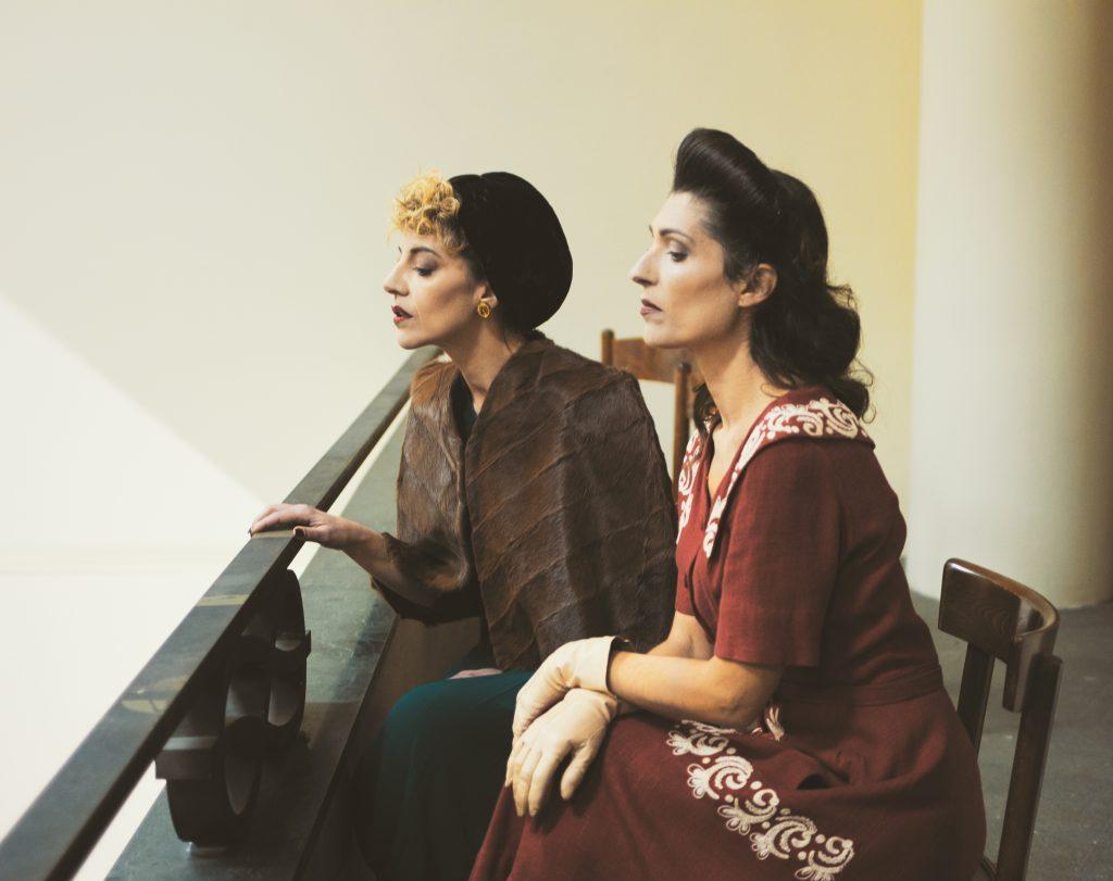 moda sotto le bombe teatro cinema lerario lapadula 40s fashion