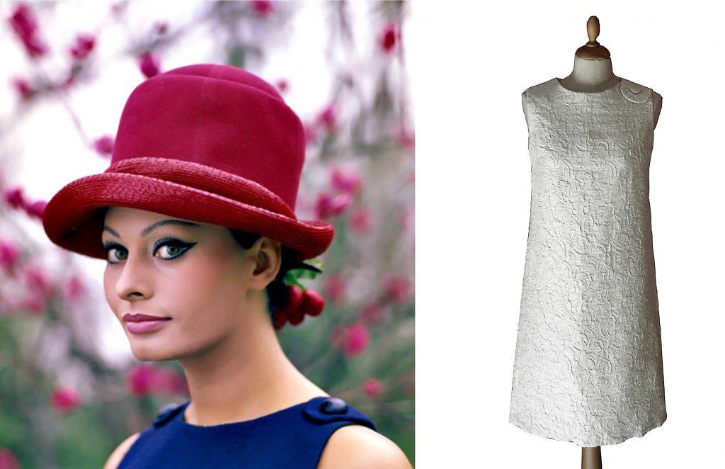 emilio schuberth sophia loren dress vintage 60s fashion archives clothing museum lerario lapadula