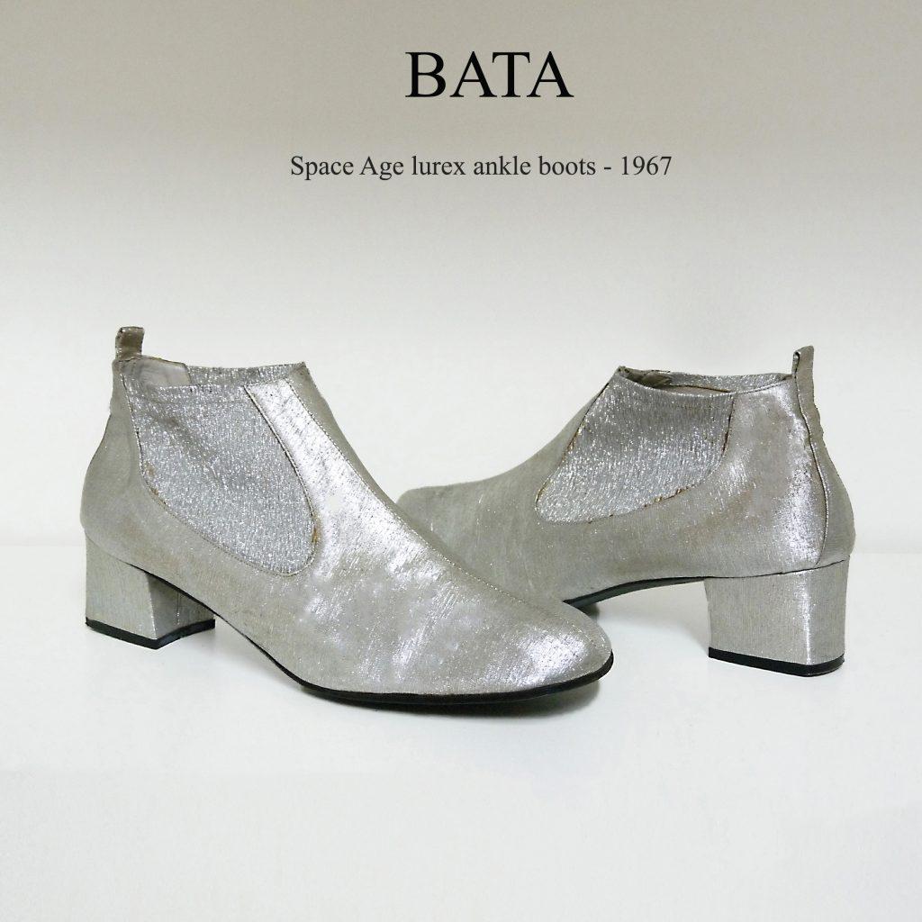 1967 Bata space age ankle boots 60s vintage schuhe fashion history museum archives lerario lapadula shoes