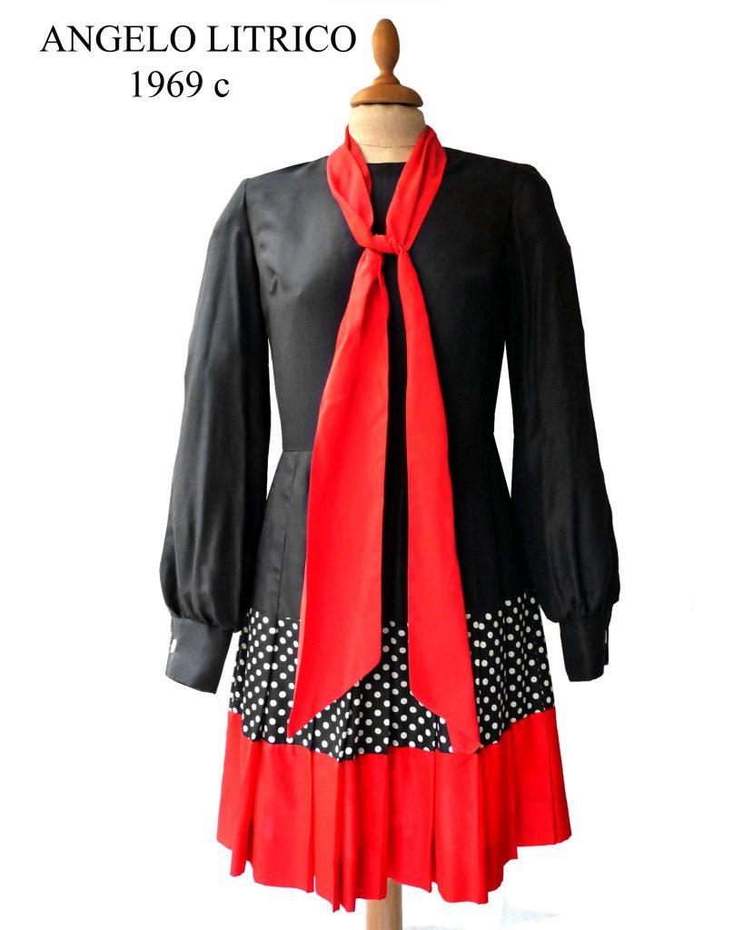 angelo litrico 60s vintage clothing dress 1960s fashion history museum archives lerario lapadula