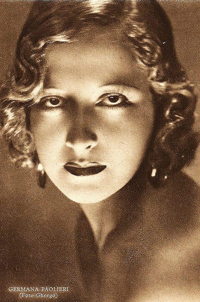 germana paolieri fascist actress cinema 30s 40s movie star vintage