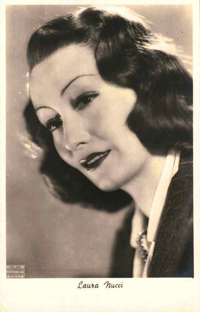 laura nucci italian actress cinema movie vintage photography fashion makeup history hair 40s fascist divas weird