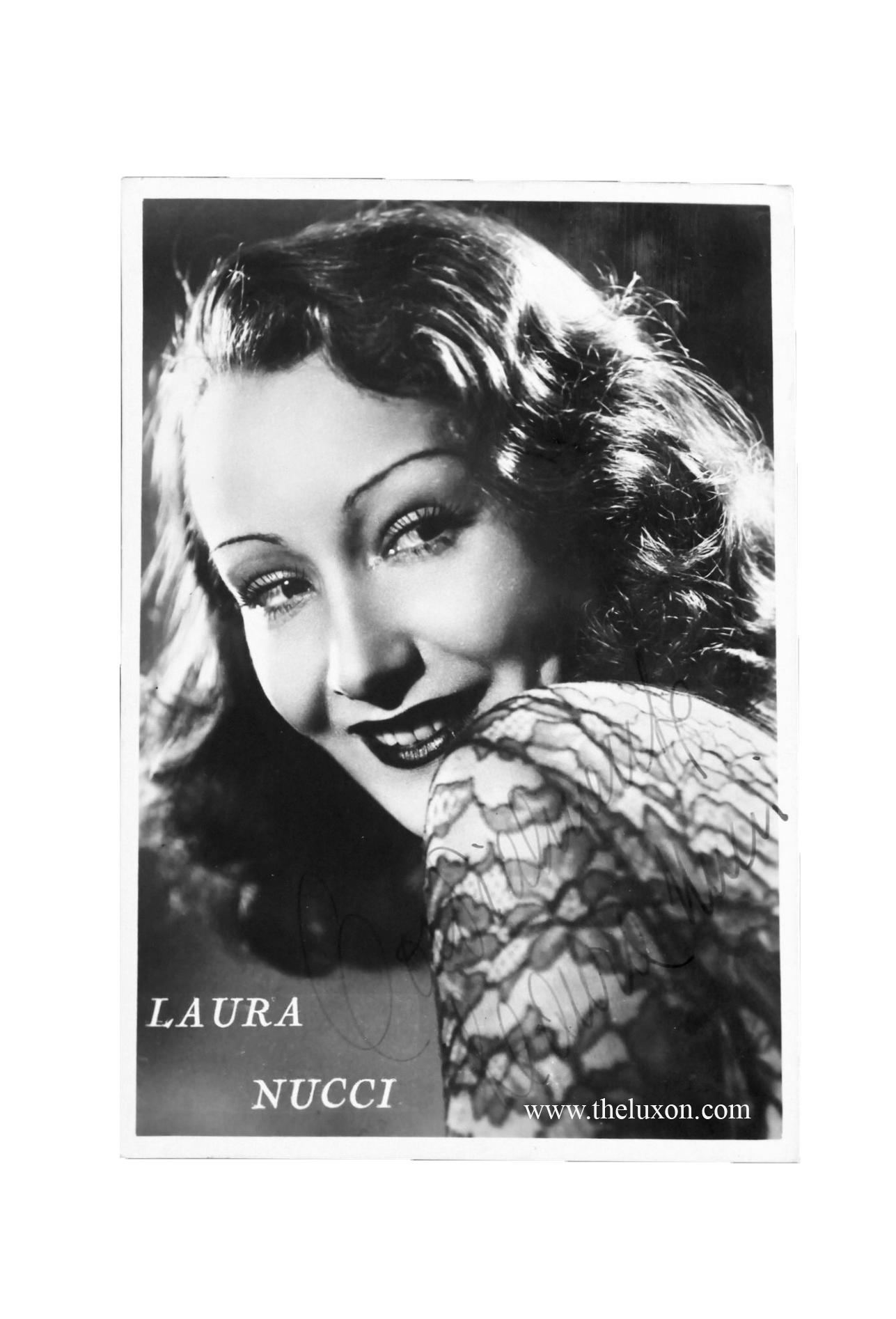 laura nucci italian actress cinema movie vintage photography fashion makeup history hair 40s fascist divas