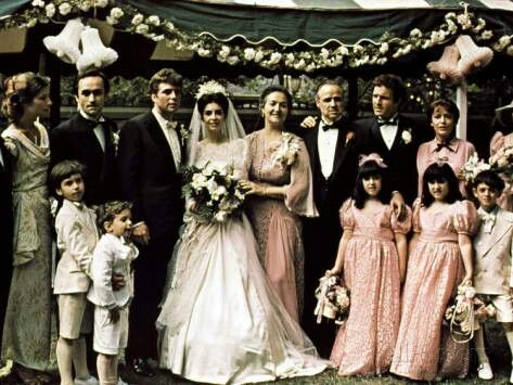 The Godfather movie family