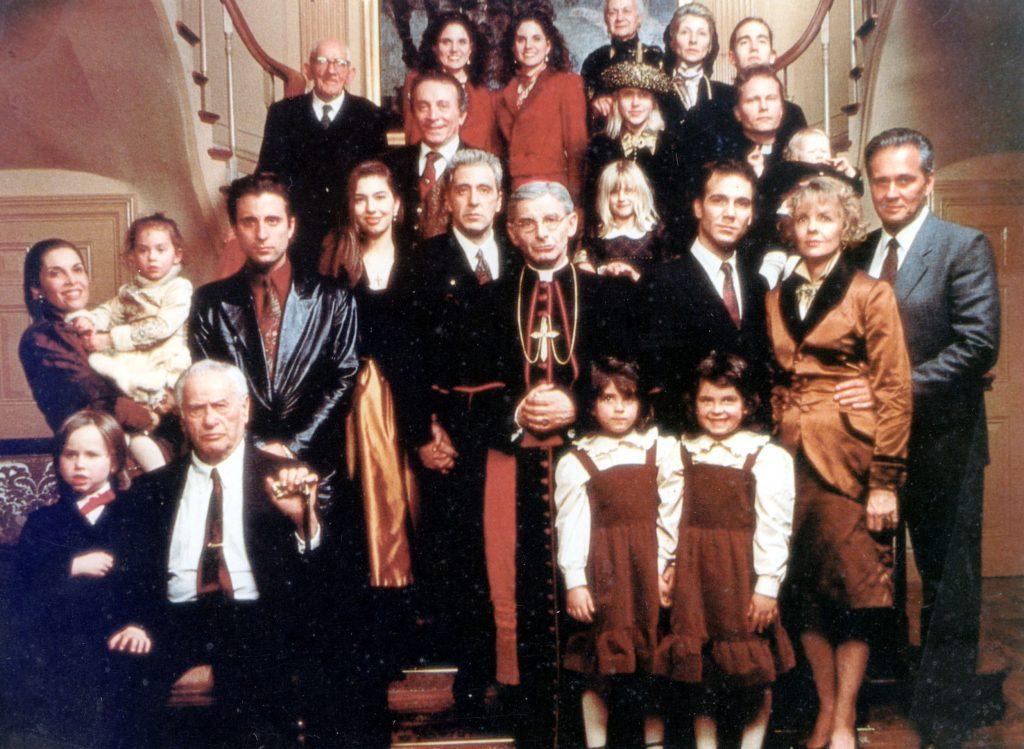 family portrait 1990 The Godfather movie