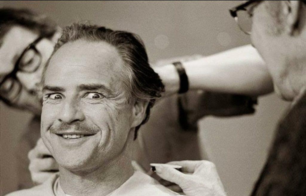 marlon brando makeup godfather cinema