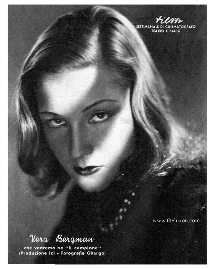 vera bergman creepy vintage photography 30s 40s fashion hisotry italian fascist divas the lux on actress