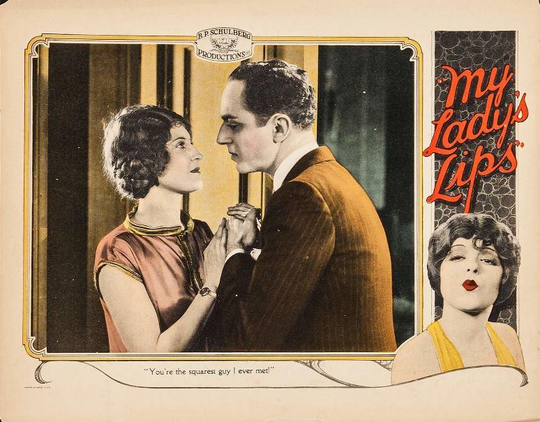 my lady's lips cinema history moda storia luciano lapadula clara bow